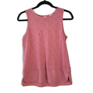 J. Crew Drapey Tank Top With Silky Hem